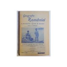 GEOGRAFIA ROMANIEI SI A PROVINCIILOR LOCUITE DE ROMANI de MIHAIL G. MUMUIANU, EDITIA VIII  1911