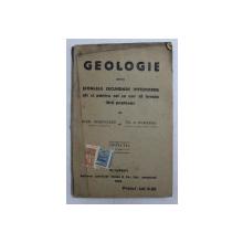 GEOLOGIE PENTRU SCOALELE SECUNDARE INFERIOARE CAT SI PENTRU CEI CE VOR SA INVETE FARA PROFESOR de IOAN SIMIONESCU si TH . A . BADARAU , 1919