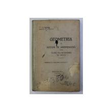 GEOMETRIA SI NOTIUNI DE AGRIMENSURA PENTRU CLASA a - IV - a SECUNDARA DE BAIETI ED. a - III - a de I .TUTUC , 1915