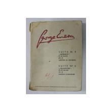 GEORGE ENESCU -  SUITA NR. 3 ( SATEASCA ) IN RE MAJOR OP. 27 - PARTITURA DE ORCHESTRA , 1967