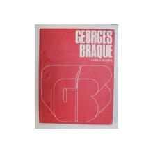 GEORGES BRAQUE de LARA VINCA MASINI , EDITIE IN LIMBA SPANIOLA , 1971