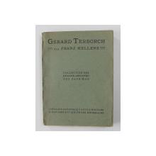 GERARD TERBORCH par FRANZ HELLENS - COLLECTION DES GRANDS ARTISTES DES PAYS - BAS , 1911