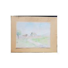 Ghelman Lazar (1887 - 1976) - Peisaj din Braila