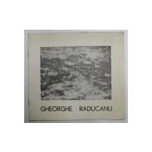 GHEORGHE RADUCANU , PICTURA , MARTIE - APRILIE 1973