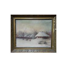 Gheorghe Zamphiropol Dall (1883-1951) - Peisaj de iarna