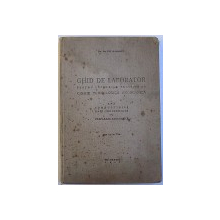GHID DE LABORATOR PENTRU LUCRARILE PRACTICE DE CHIMIE TEHNOLOGICA ANORGANICA : APA , COMBUSTIBILI , GAZE INDUSTRIALE , PH , PREPARATE ANORGANICE , EDITIA A II -A de EM . A. BRATU , 1941
