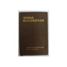 GHIDUL BUCURESTILOR  1935, LIPSA HARTA