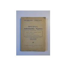 GHIDUL JUDECATORIILOR POPULARE de YOLANDA EMINESCU - STANESCU , CONSTANTIN FLORESCU , BUCURESTI 1948