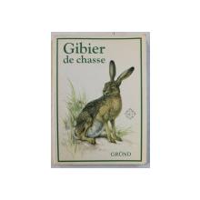 GIBIER DE CHASSE , texte de MIROSLAV BOUCHNER , illustrations de ZDENEK BERGER , 1992