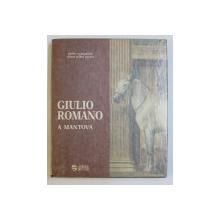 GIULIO ROMANO A MANTOVA - UNA NUOVA E STRAVAGANTE MANIERA di PAOLO CARPEGGIANI , CHIARA TELLINI PERINA , 1987