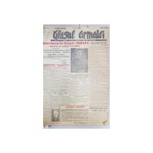 GLASUL ARMATEI - ORGAN CENTRAL AL OSTIRII -  COLEGAT ANUL I- II , NUMERELE 1  - 150 , APARUTE INTRE 15 IULIE 1945  - 2 DECEMBRIE 1946, LIPSA COPERTA SPATE*