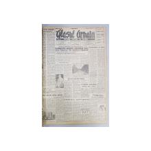 GLASUL ARMATEI - ORGAN CENTRAL AL OSTIRII -  COLEGAT ANUL II - III , NUMERELE 241   - 339  , APARUTE INTRE 27 MARTIE 1947 - 27 IULIE 1947 , LIPSA COPERTE , PRIMELE PAGINI CU RUPTURI *