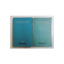 Goethe Faust partea 1 si a 2