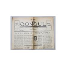 GONGUL  - INDREPTAR TEATRAL , MUZICAL , CINEMATOGRAFIC , PLASTIC SI SPORTIV , director ROMULUS VULCANESCU , ANUL I , NO. I , DUMINICA , 14 MARTIE 1937
