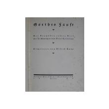 GOTHES FAUST  - DER TRAGODIE ERSTER TEIL , mit ZEICHUNGEN von PETER CORNELIUS , 1920