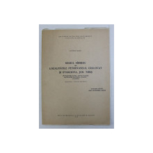GRAIUL SARBESC DIN LOCALITATILE PETROVASELO , CRALOVAT SI STANCIOVA , JUD. TIMIS , REZUMATUL TEZEI DE DOCTORAT de VICTOR  VESCU , 1969
