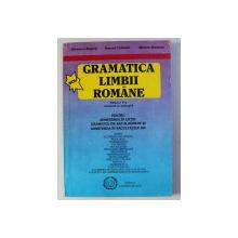 GRAMATICA LIMBII ROMANE PENTRU ADMITEREA IN LICEE , EXAMENUL DE BACALAUREAT SI ADMITERE IN FACULTATI de SILVESTRU BOATCA ...MIRCEA  MARDARE , 1997