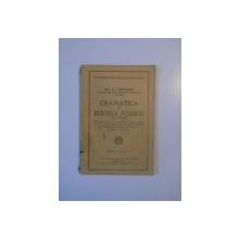 GRAMATICA SI ISTORIA MUZICII (CLASICISMUL) PENTRU UZUL SCOALELOR SECUNDARE (LICEE, SEMINARII, SCOLI NORMALE, SCOLI PROFESIONALE SI SCOLI DE MUZICA) (CLASA VI LICEALA) de GH.A. CHIRVASIE  1929