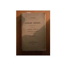 GRAMMAIRE HEBRAIQUE , ABREGEE , PRECEDEE DE PREMIERS ELEMENTS par J. TOUZARD , Paris 1932