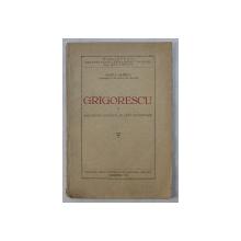 GRIGORESCU SI SPECIFICUL NATIONAL IN ARTA SI EDUCATIE de IOSIF L . GABREA , 1932