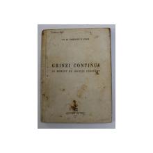 GRINZI CONTINUI CU MOMENT DE INERTIE CONSTANT de CONSTANTIN N. AVRAM , 1949