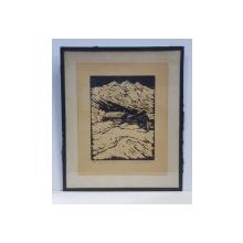 H. MULLER - Peisaj de munte