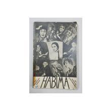 HABIMA, H`EBRAISCHES THEATER - BERLIN, 1928