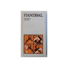 HANDBAL - REGULAMENT COMENTAT , comentat de VASILE SIDEA , 1986
