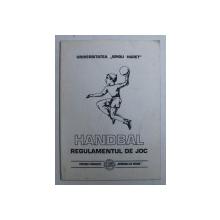 HANDBAL - REGULAMENTUL DE JOC , 2000
