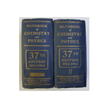 HANDBOOK OF CHEMISTRY and PHYSICS , THIRTY - SEVENTH EDITION , VOLUMELE I - II , 1955 - 1956