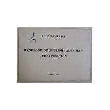 HANDBOOK OF ENGLISH - ALBANIAN CONVERSATION , 1969