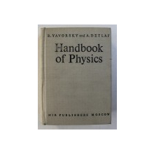HANDBOOK OF PHYSICS by B. YAVORSKY AND A. DETLAF , 1975