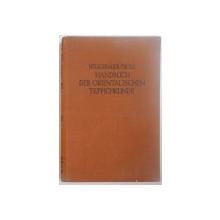 HANDBUCH DER ORIENTALISCHEN TEPPICHKUNDE von R. NEUGEBAUER UND SIEGRIED TROLL  1930