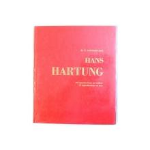 HANS HARTUNG par R. - V.  GINDERTAEL , 1960