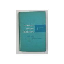 HARBRACE COLLEGE HANDBOOK by JOHN C. HODGES ..FRANCIS X. CONNOLLY , 1962