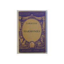 HARMONIES par LAMARTINE