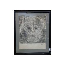 Harry Guttman (1933-2015) - Masca, litografie