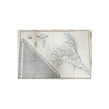 HARTA CAILOR DE COMUNICATIE A JUDETULUI PUTNA , SCARA 1 / 200.000 ,  intocmita de COLONEL PASTIA ALEX . , POLICROMA , 1927