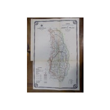 Harta cailor de comunicatie din Judetul Falciu 1915