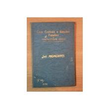 HARTA CAILOR DE COMUNICATIE DIN JUDETUL MEHEDINTI I IN ANUL 1908