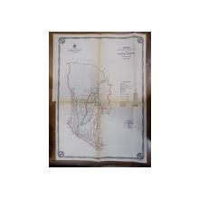 Harta cailor de comunicatie din Judetul Muscel 1915