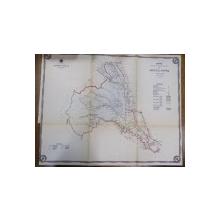 Harta cailor de comunicatie din Judetul Putna 1914