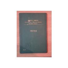 HARTA CAILOR DE COMUNICATIE DIN JUDETUL TECUCI IN ANUL 1903