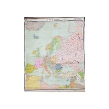 HARTA DIDACTICA -EUROPA -1969