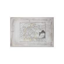 HARTA ' DIE LANDSCHAFT BUKOWINA  NO. 8 ' von I. ALBRECHT , 1789