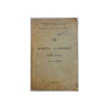 HARTA DUNAREI, BRATUL BORCEA, SCARA 1:50.000, VOL VIII, 1935