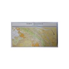 HARTA GEOLOGICA A ROMANIEI SCARA 1 / 1. 000.000 de ION PETRESCU si GR. GEORGESCU , 1954