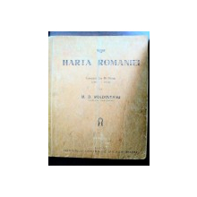 HARTA ROMANIEI  - M.D. MOLDOVEANU,PERIOADA INTERBELICA