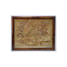 HARTA 'TRANSILVANIE SIEBENBURGEN ' de GERARDUS MERCATOR , CCA . 1630