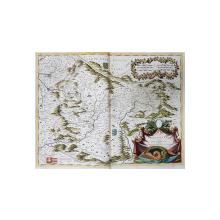 HARTA TRANSILVANIEI de COSMOGRAF MARIA CORONELLI , cca. 1690